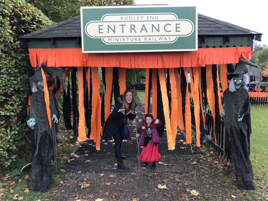 Halloween Train Entrance