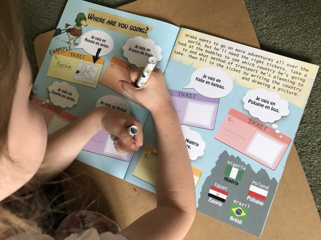 One Third Stories activity pack