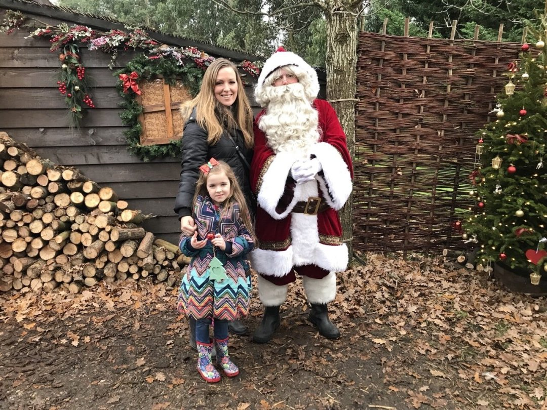 Meeting Santa An Elf's Wish at Nevendon Manor
