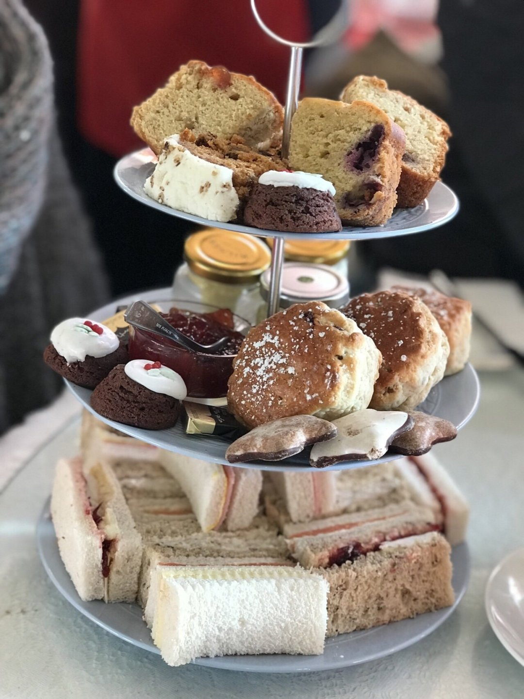 Afternoon tea at Merrymeade Tea Rooms