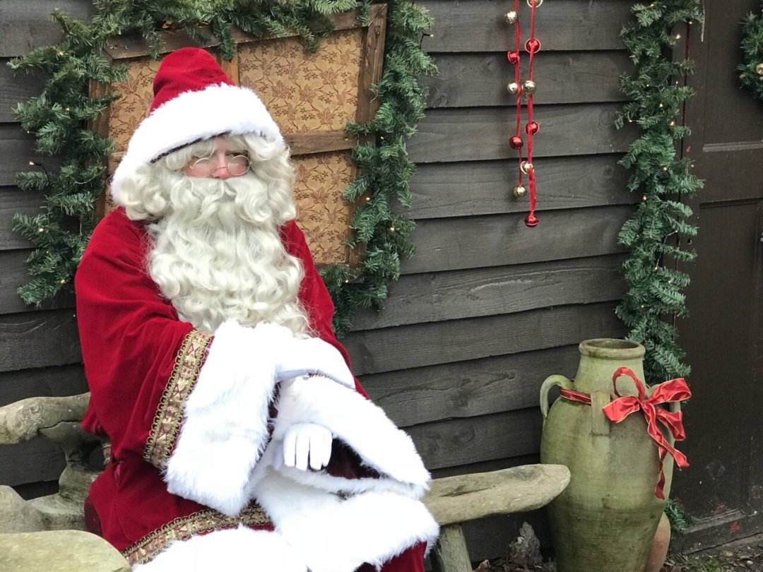 Santa at An Elf's Wish at Nevendon Manor