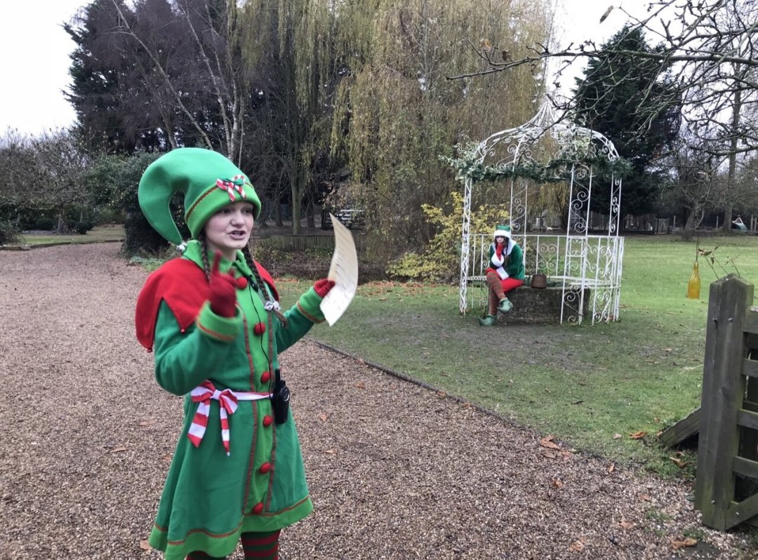 Brumble the elf An Elf's Wish at Nevendon Manor