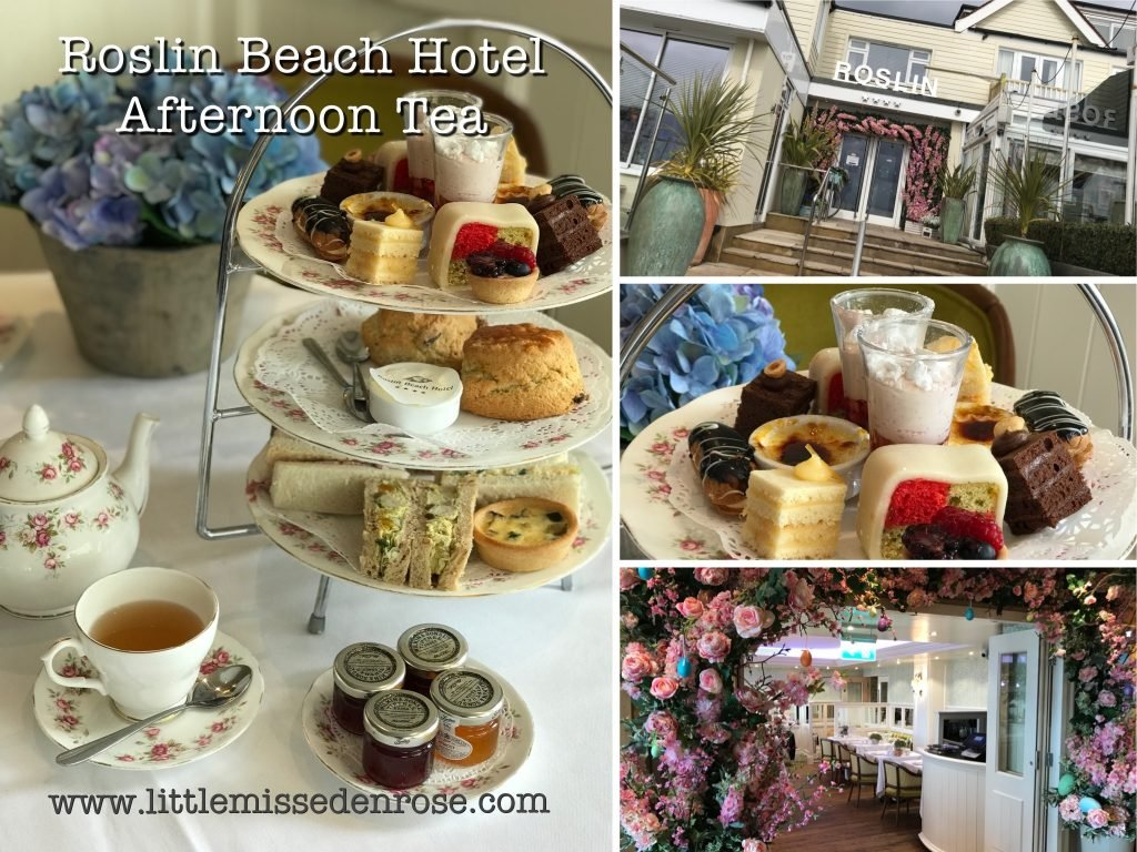 Roslin beach Hotel collage The Best Afternoon Teas in Essex