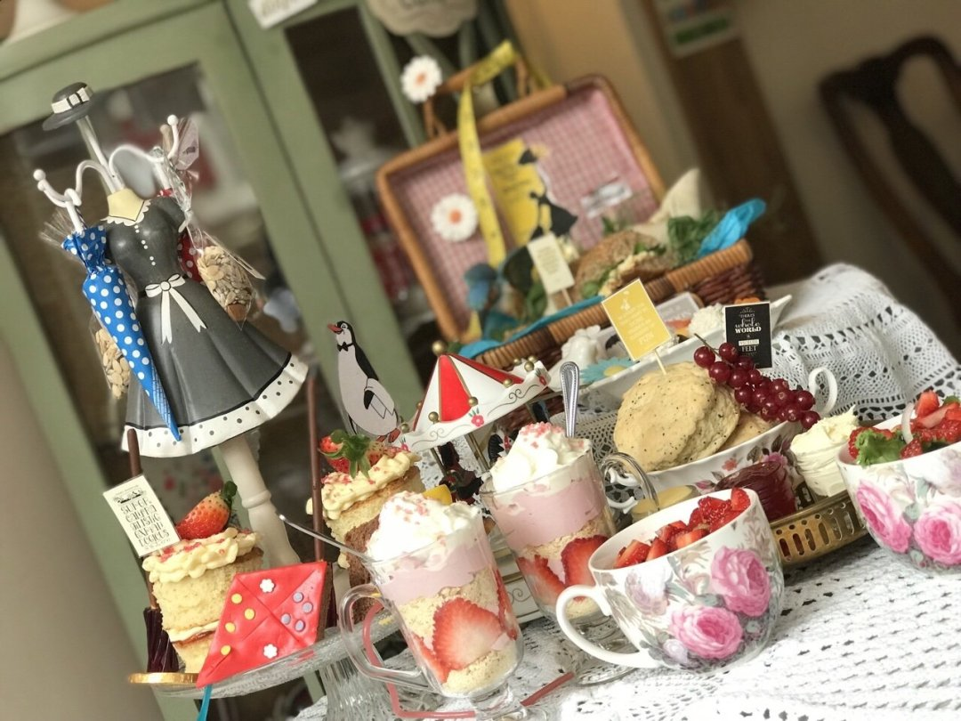 Mary Poppins Themed Afternoon Tea view