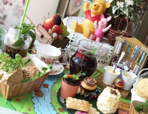 Silly Old Bear Themed Afternoon Tea