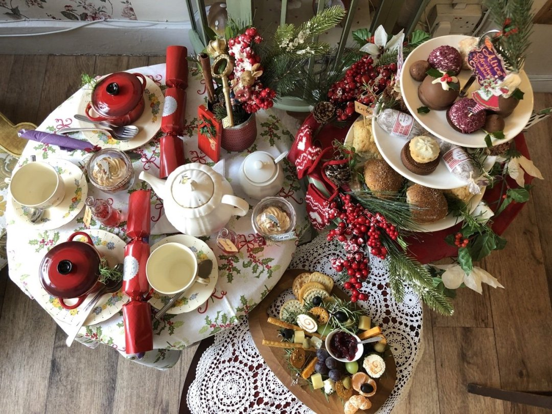 Christmas Afternoon Tea in Essex