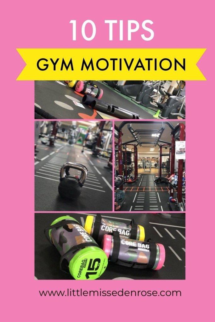 10 tips for gym motivation
