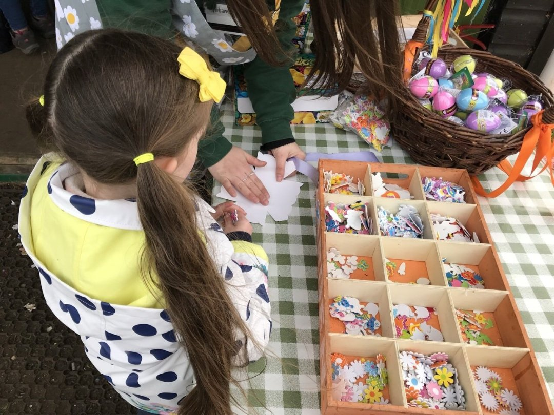 Easter crafts Easter Train at Audley End