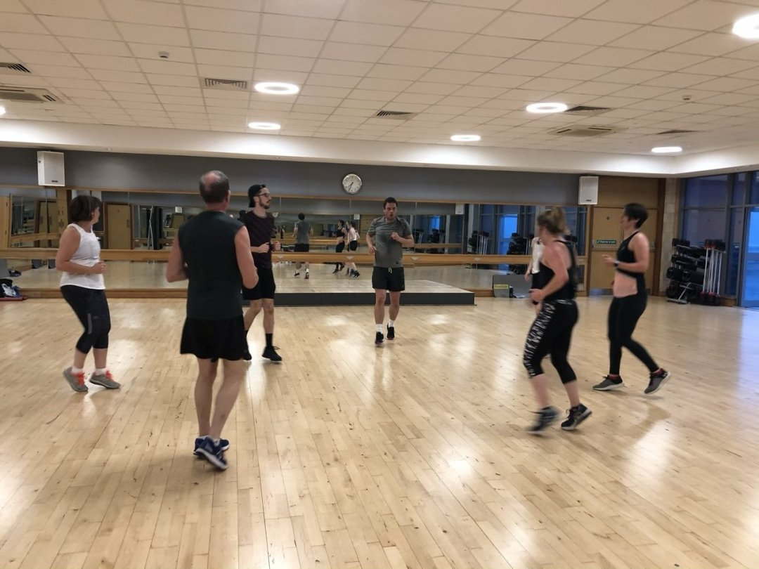 BodyAttack workout class, group exercise at David Lloyd