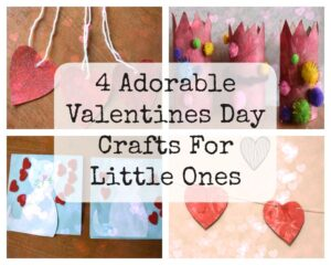 Valentine's Day kids crafts for little ones with Whimsical Mumblings