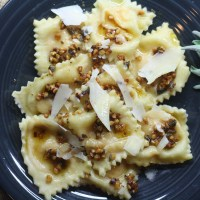 Butternut Squash Ravioli with Sage and Hazelnut Browned Butter Sauce
