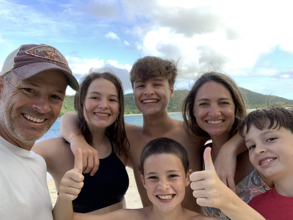 Our family in Puerto Rico
