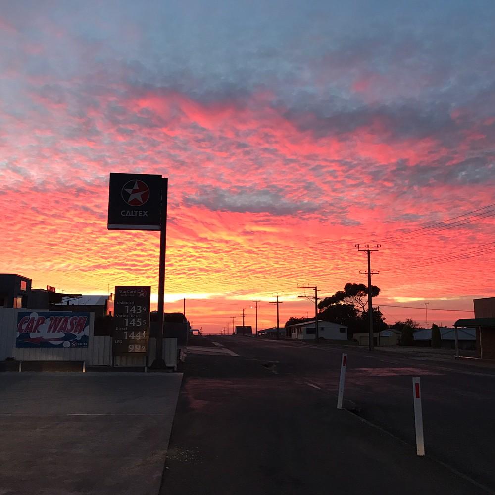 Australia sunrise