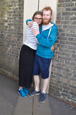 Me and the Australian at the Prime Meridian
