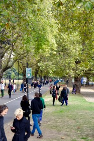 The pilgrimage to Broadway Market through London Fields
