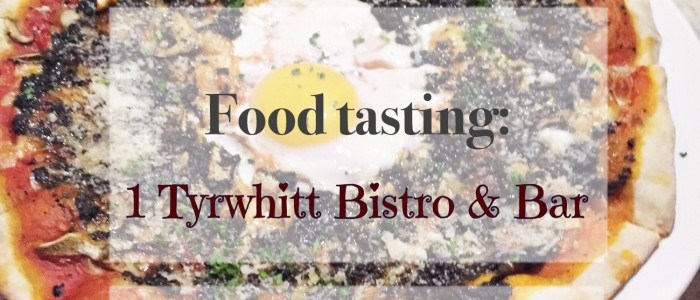 FOOD TASTING: 1 TYRWHITT BISTRO & BAR