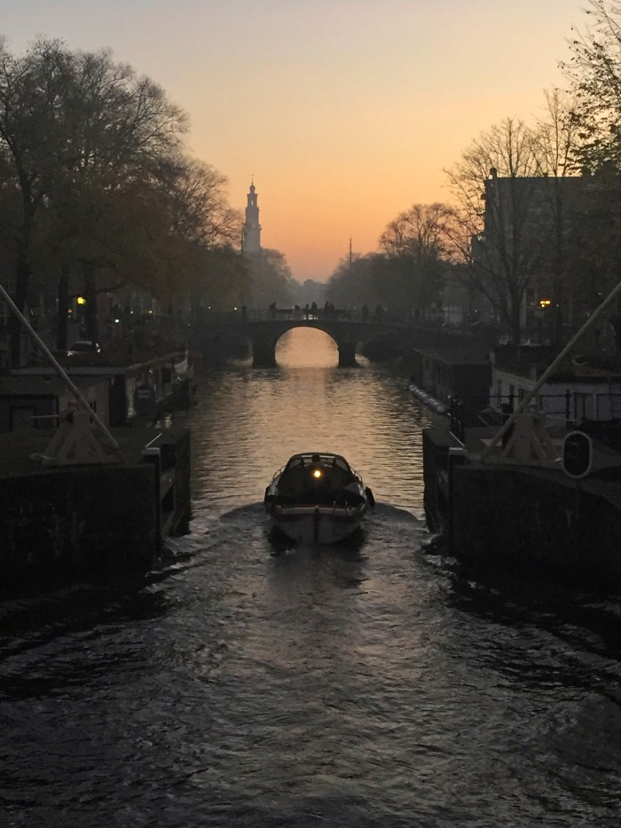 Amsterdam sunset