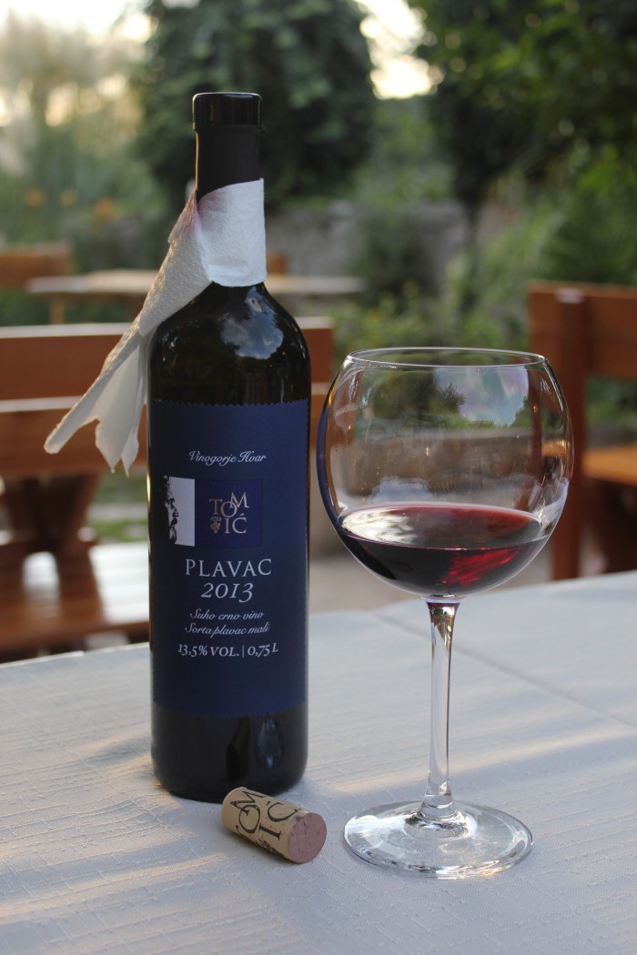 Croatia wine