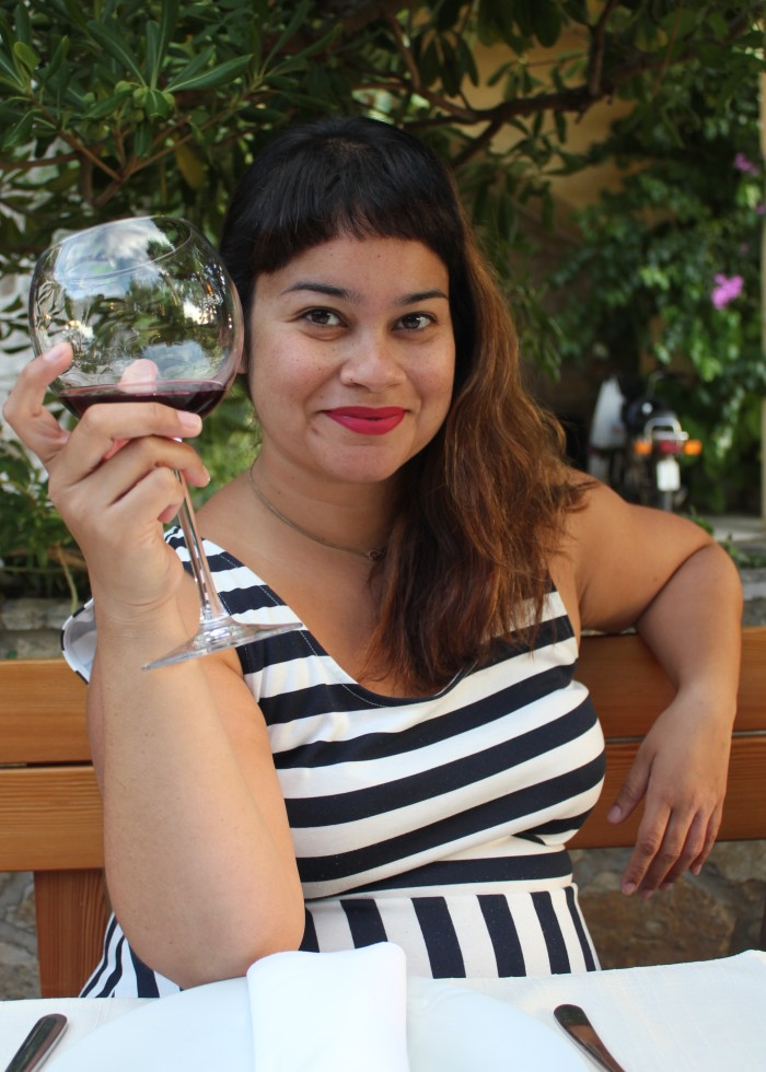 Deepa and Croatian wine