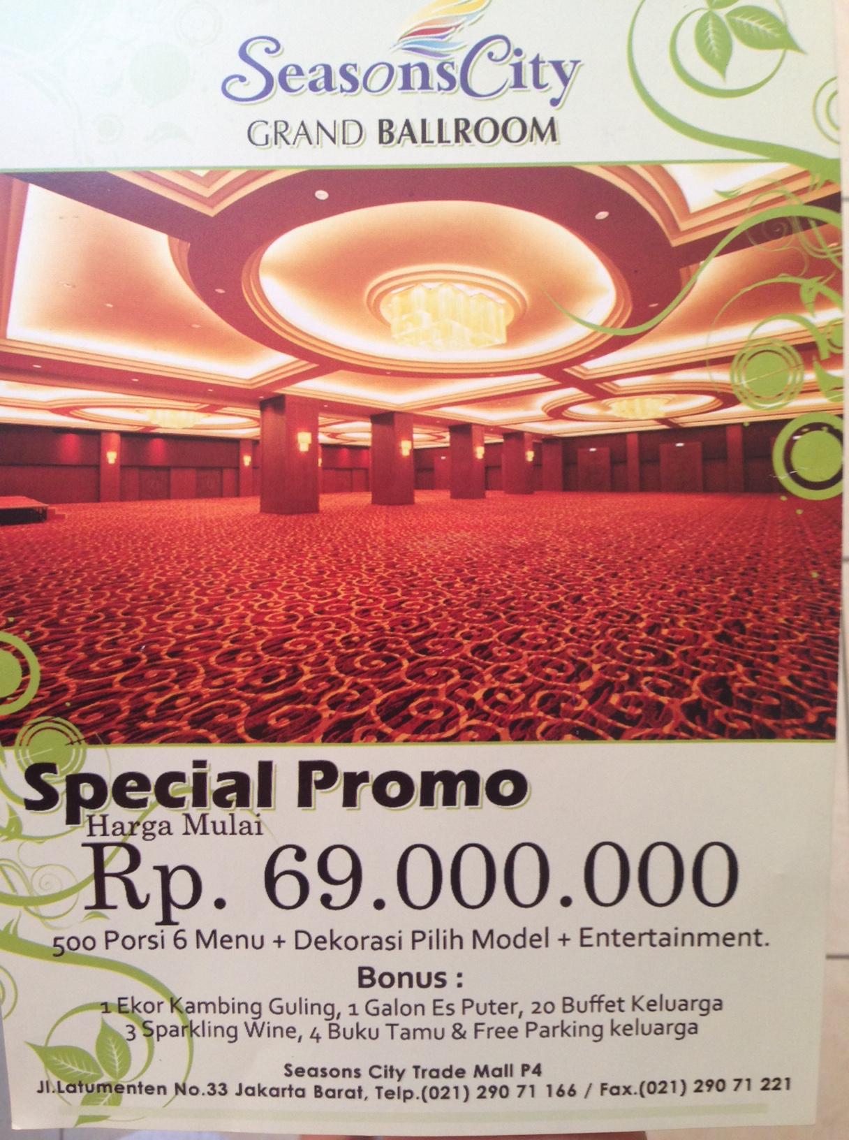 Paket Wedding Hotel Jakarta 2018 : paket, wedding, hotel, jakarta, Wedding, Venue, Hunting, Littlemissindri