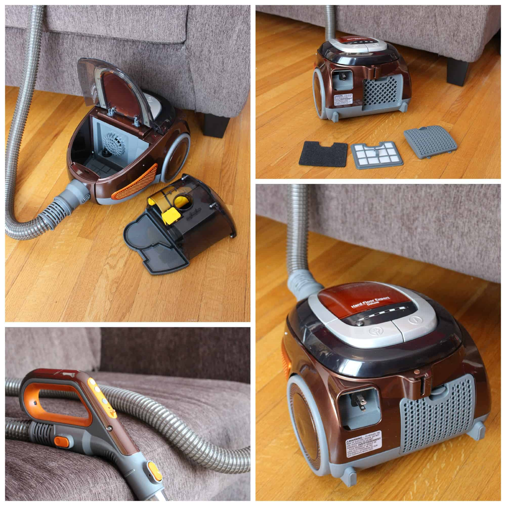 Cleaning House with the Bissell Hard Floor Expert Deluxe Canister Vacuum Review  Little Miss Kate