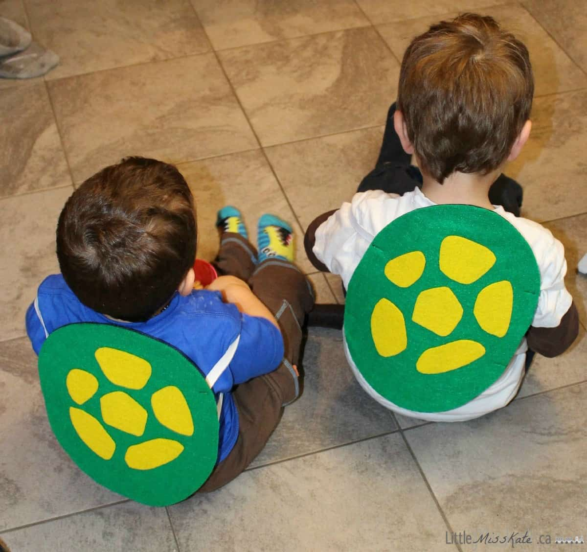 Diy Teenage Mutant Ninja Turtle Shell Costume With Pattern