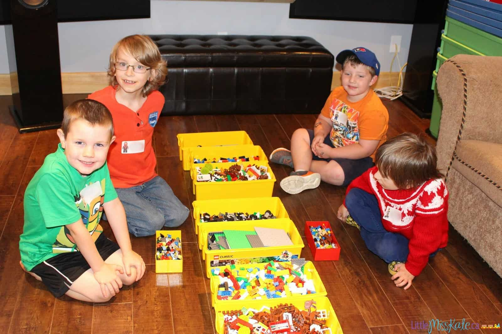 Lego Birthday Party Games And Entertainment With Kids N Bricks