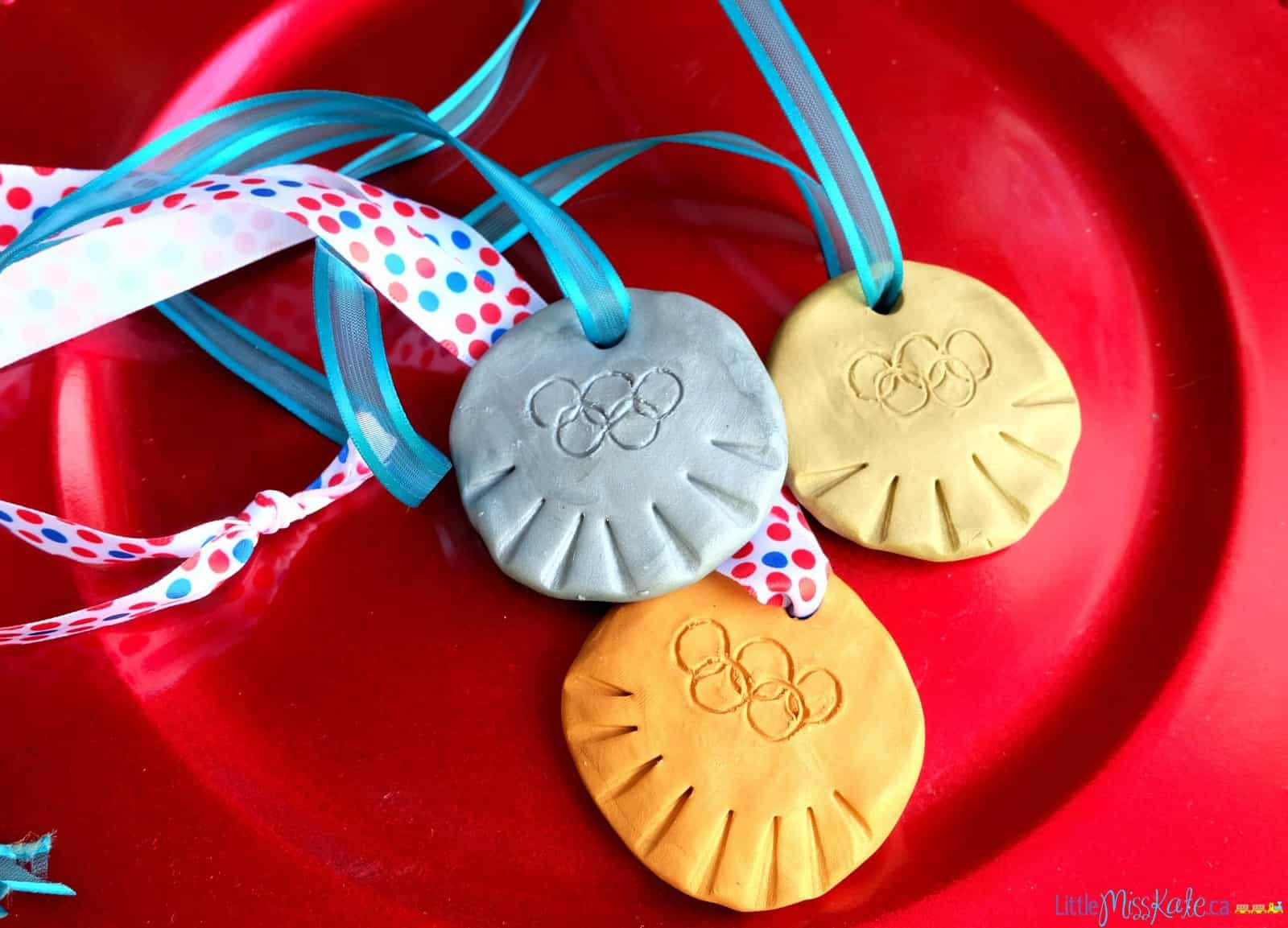 Olympic Craft Idea Diy Olympic Medals For Kids
