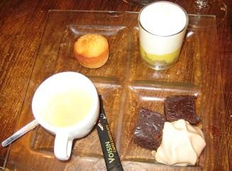 Café Gourmand (Mini Desserts et Café ou Thé)