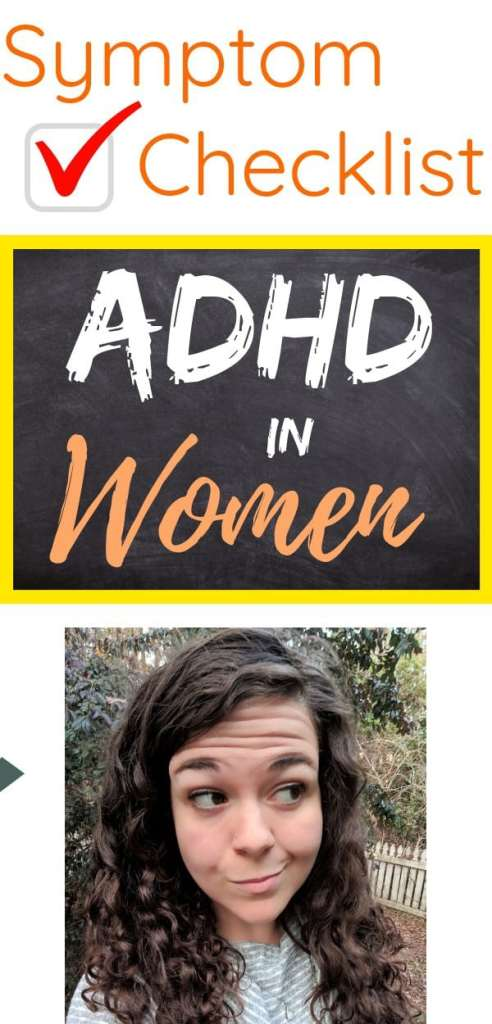 ADHD in women check list to be living up to their potential