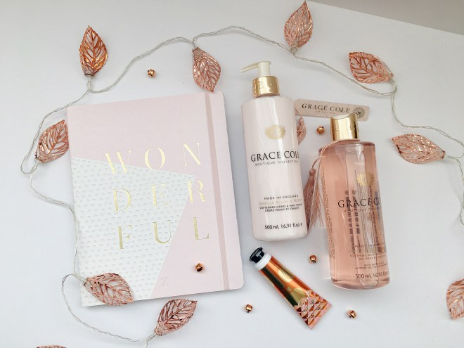 September Favourites Grace Cole Zoella Journal Bath and body works