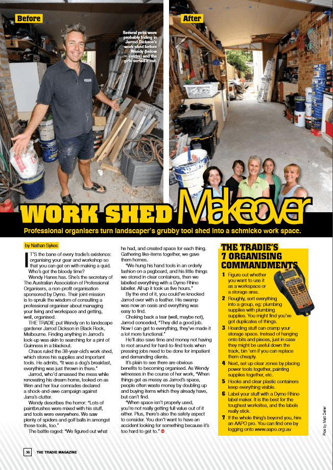 LMS in Tradie Magazine