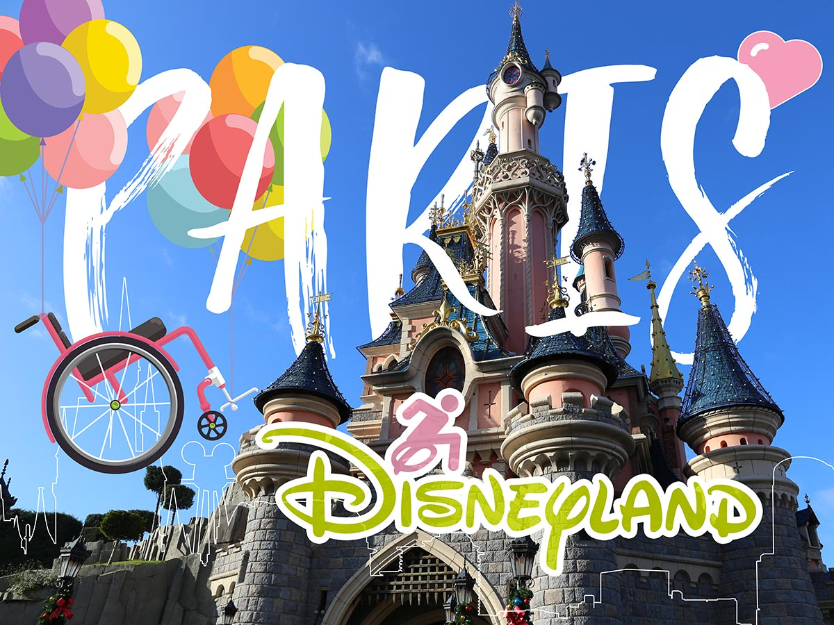 Disneyland Paris in a wheelchair