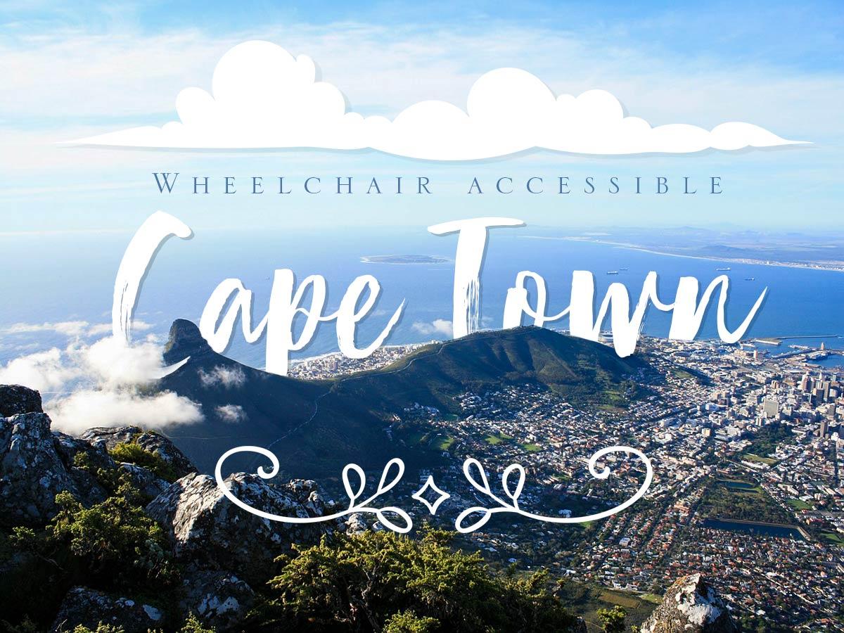 Wheelchair accessible Cape Town