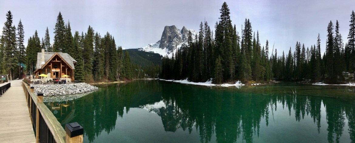 Lake Emerald & Cilantro Restaurant, Yoho National Park
