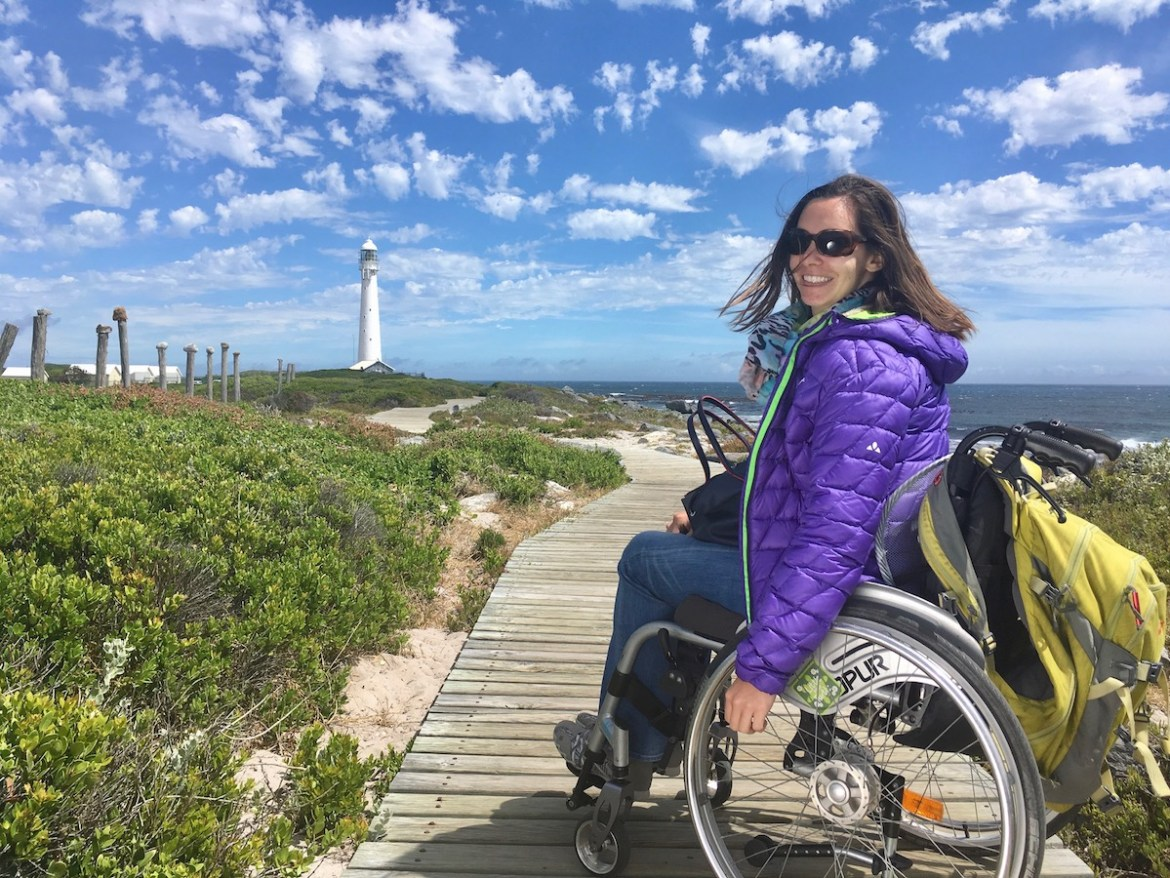 Wheelchair-friendly walk to Slangkop Lighthouse in Kommetjie