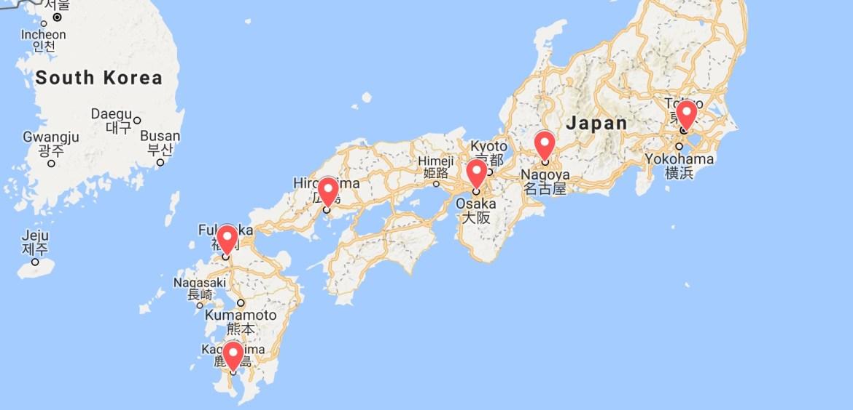 Shinkansen Trip 2018 | Itinerary