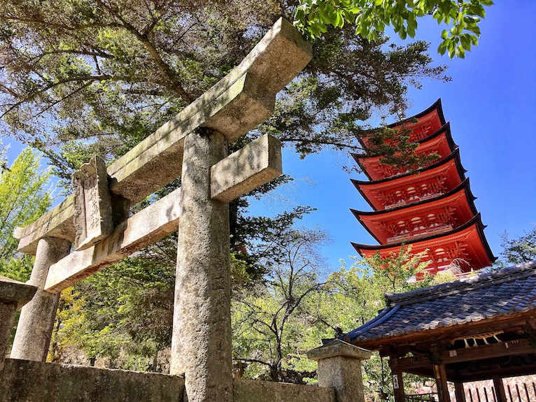 Five Storied Pagoda | Miyajima | Little Miss Turtle