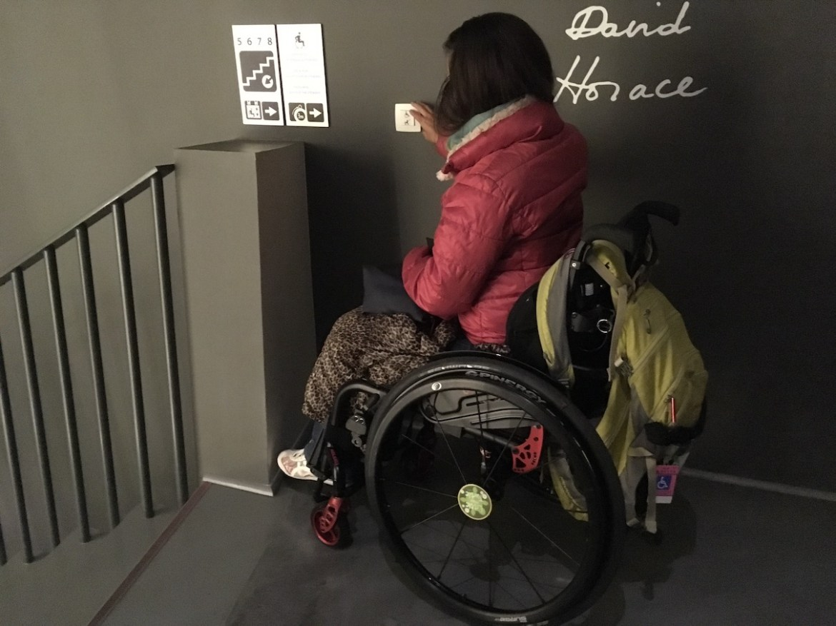 Wheelchair-accessible Musée Hergé Louvain-La-Neuve | Little Miss Turtle | Accessible Travel Blog
