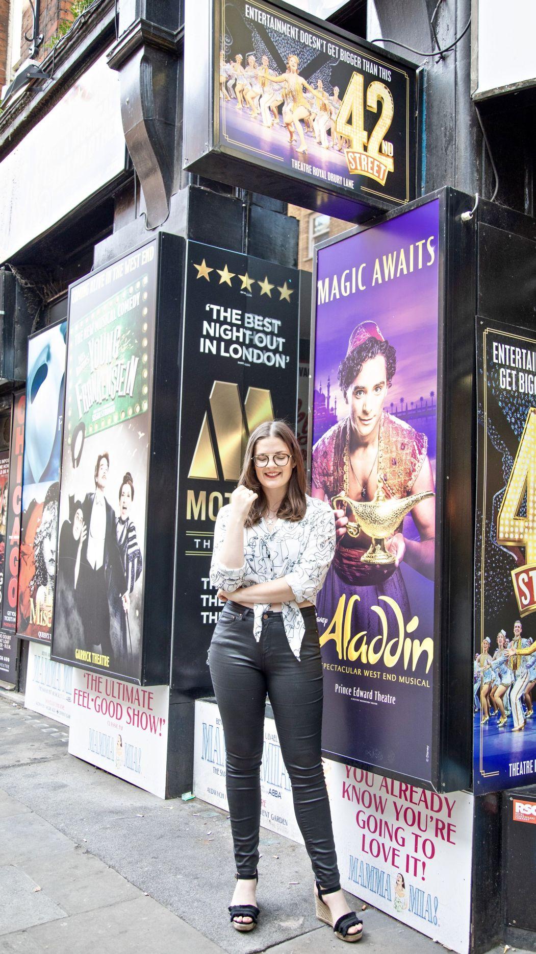 Kate Winney Little Miss Winney Reclaimed Vintage Musical Theatre West End Broadway