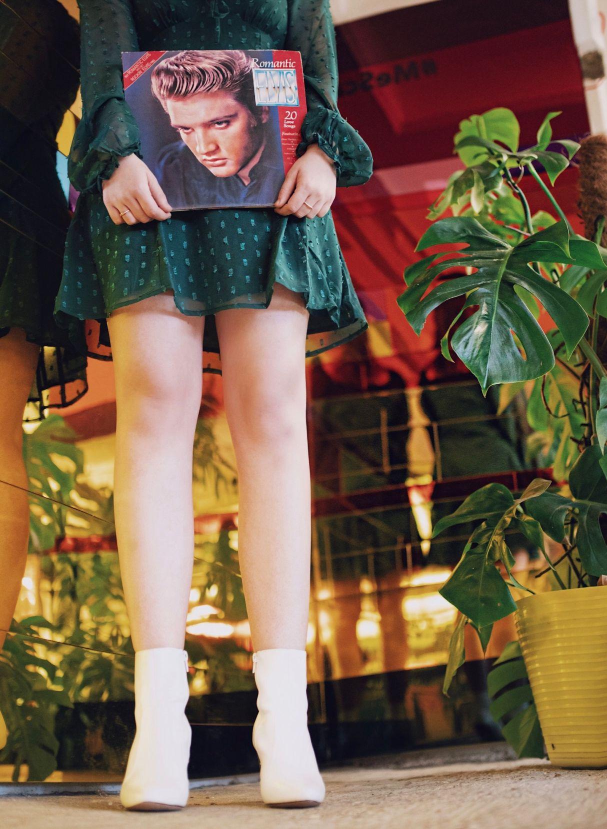 Kate Winney Little Miss Winney 1960's 60's Vintage Decades Green Dress Beehive