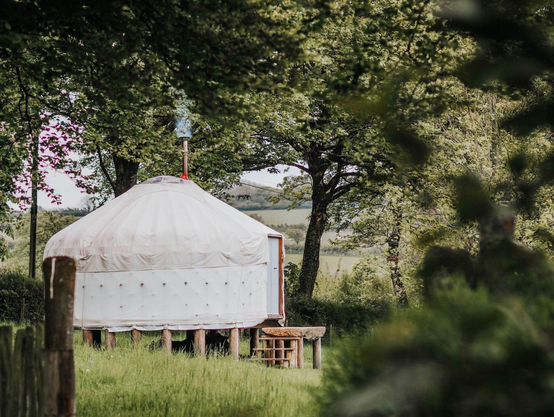 Botelet Farm Cornwall Yurt Countryside Kate Winney