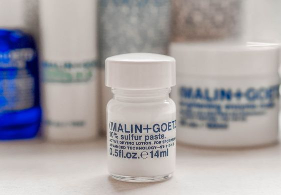 Malin and Goetz Skincare Kate Winney sulfur paste
