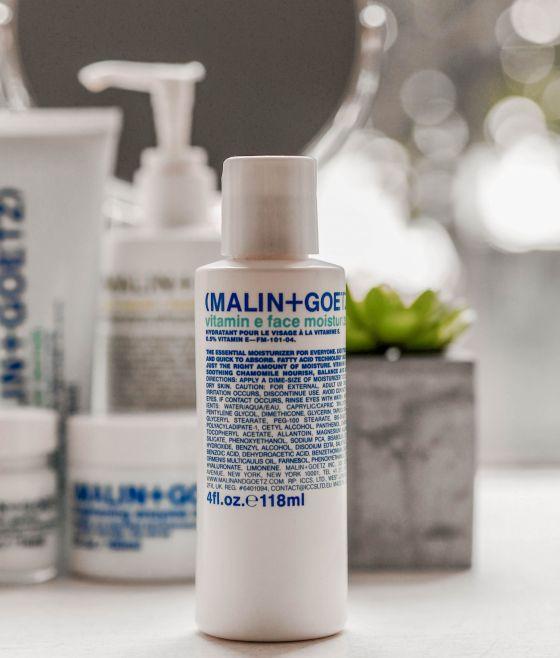 Malin and Goetz Skincare Kate Winney vitamin e moisturiser