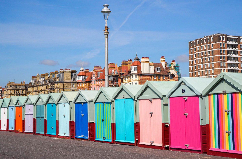 Brighton travel guide review british seaside kate winney little miss winney hove beach huts
