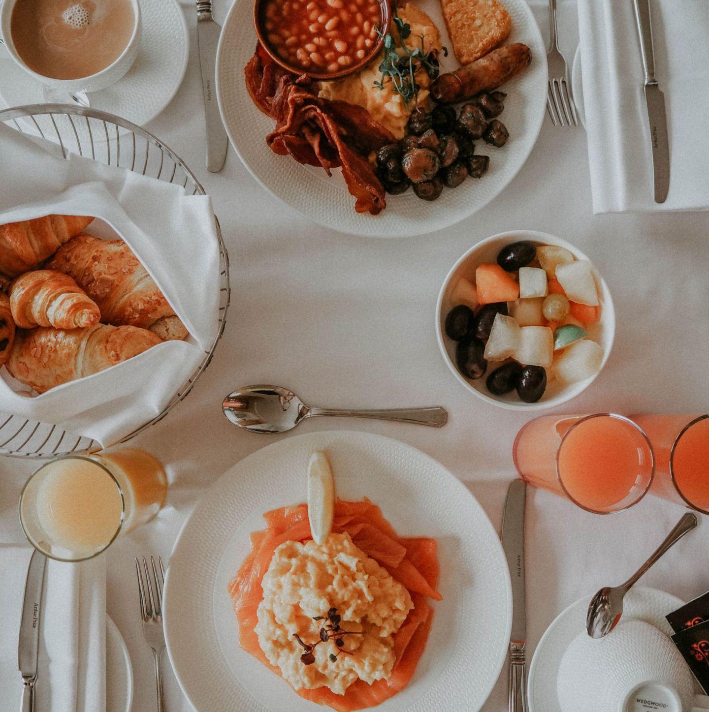 Royal Lancaster Hotel London Kate Winney Breakfast Room Service