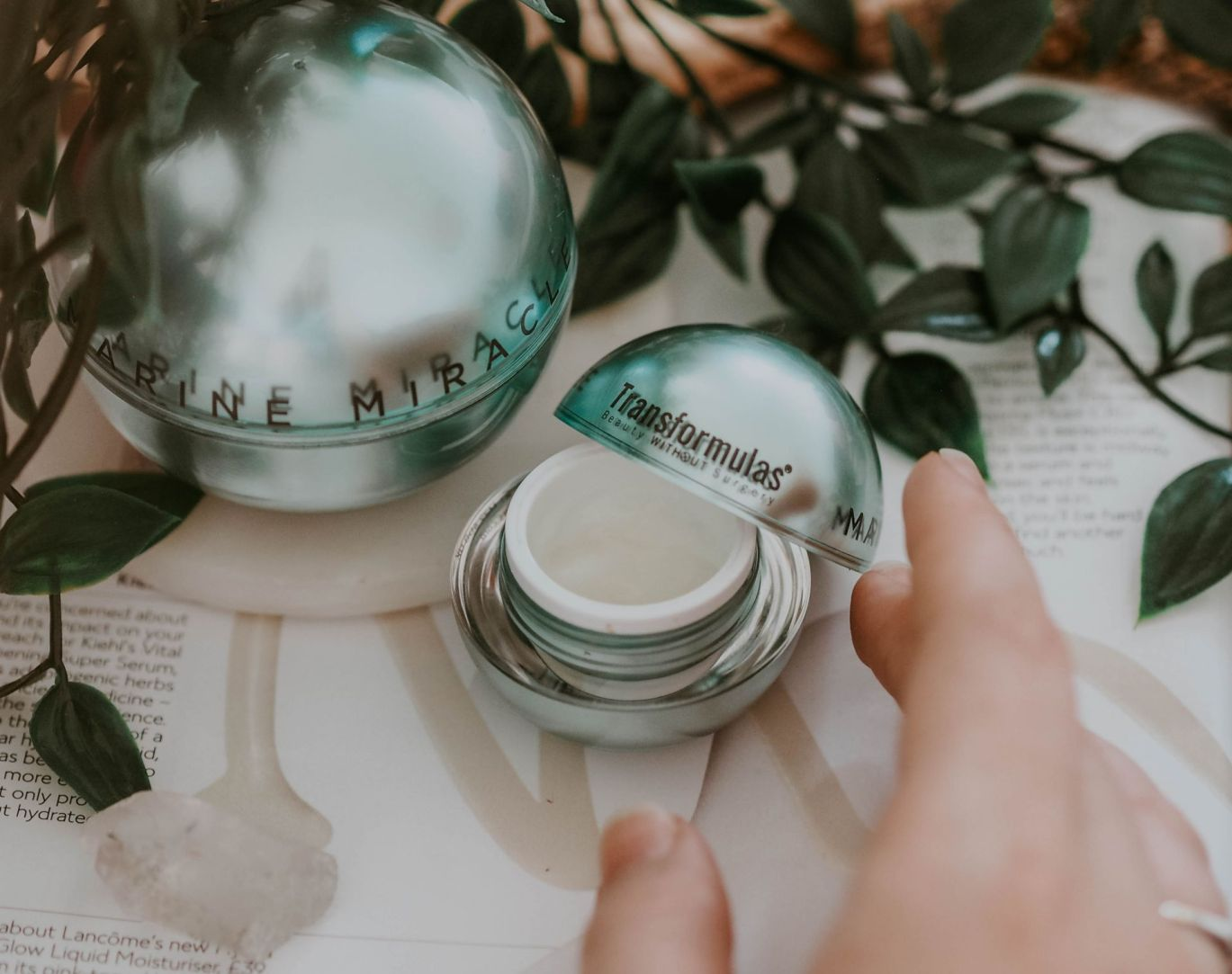 Transformulas Skincare Review Beauty Without Surgery Marine Miricle Creme Eyezone Little Miss Kate Winney