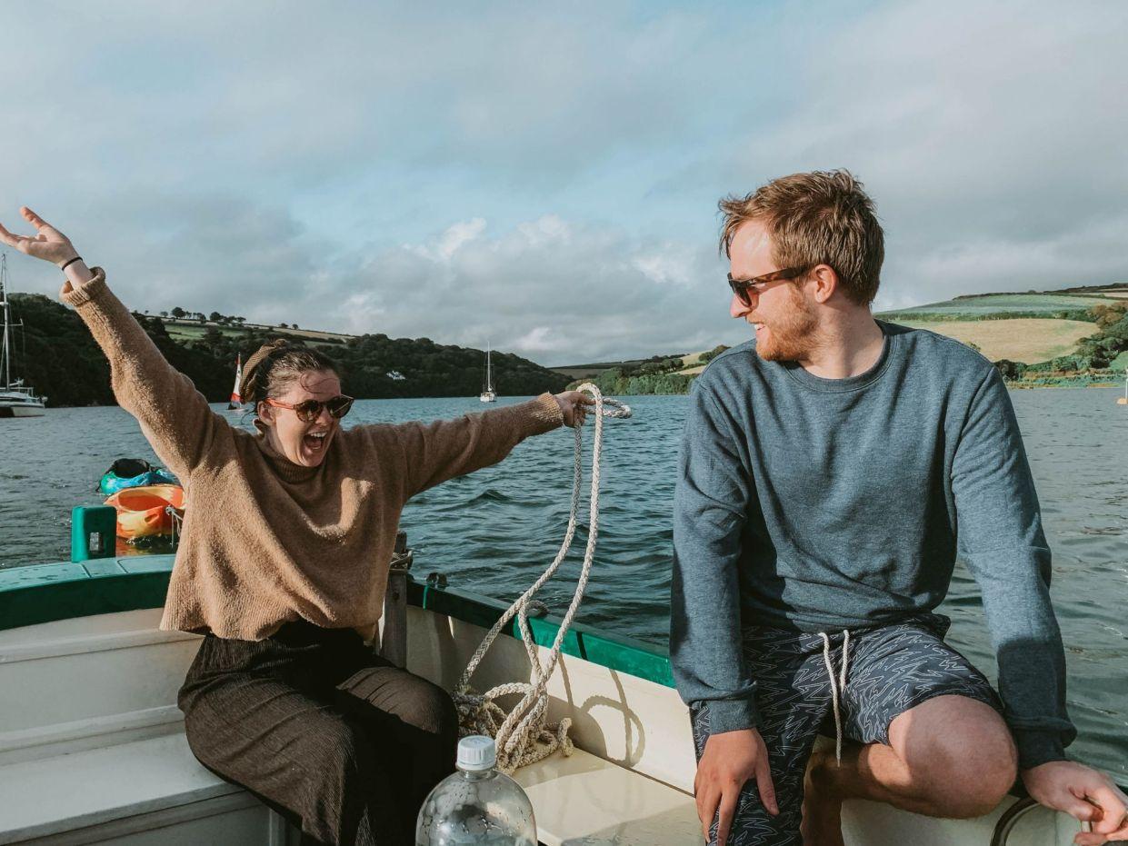 Travel Blog LittleMissWinney Devon Bigbury Coast Cottage sailing boating