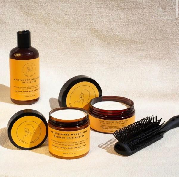 Love Mellie skincare hair care black owned beauty