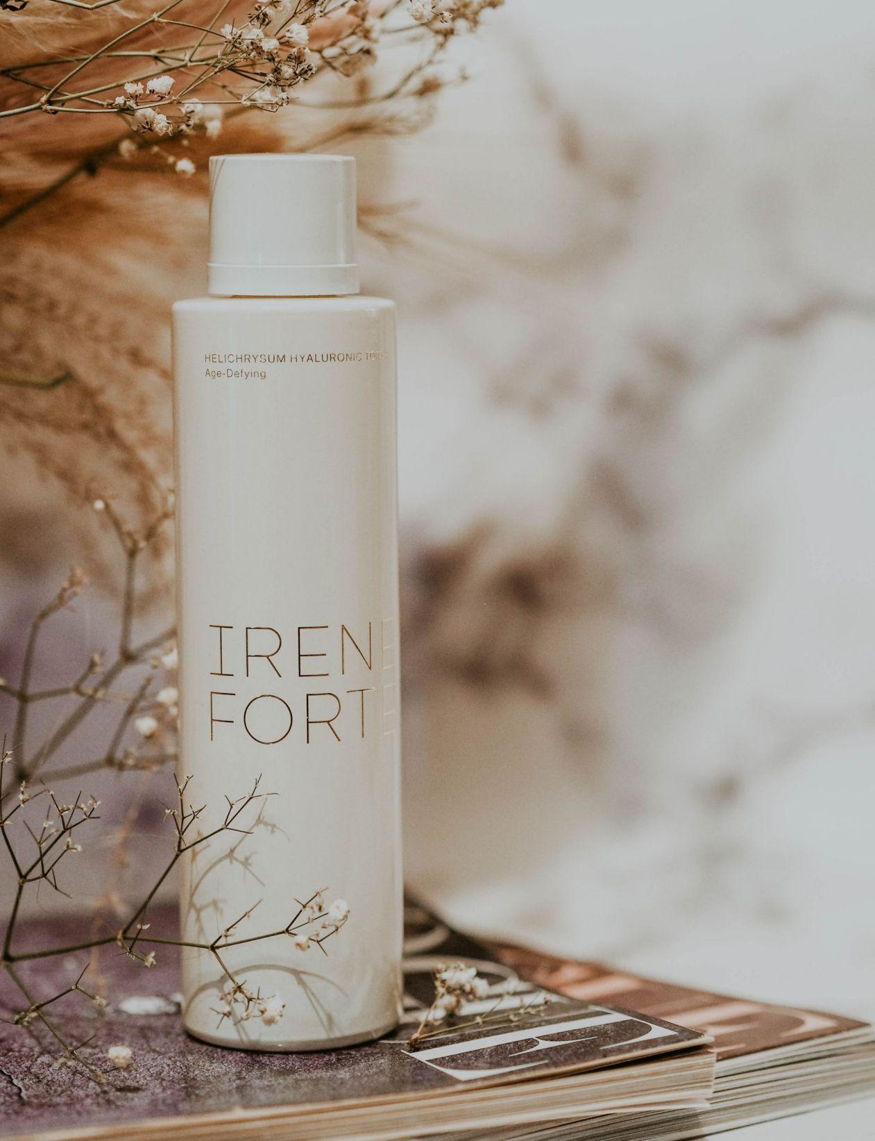 Irene Forte Skincare Review Kate Winney Helichrysum Hyaluronic Toner